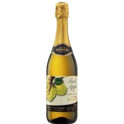 VINO SPUMANTE SIN ALCOHOL - JUGO DE UVA  sabor MANZANA GOLD 750 ml