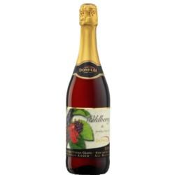 VINO SPUMANTE SIN ALCOHOL - JUGO DE UVA  sabor FRUTOS DEL BOSQUE 750 ml