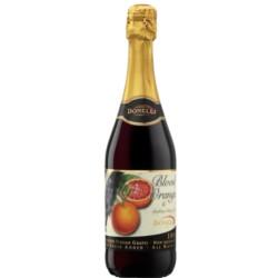 VINO SPUMANTE SIN ALCOHOL - JUGO DE UVA  sabor NARANJA ROJA - 750 ml