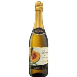 VINO SPUMANTE SIN ALCOHOL - JUGO DE UVA  sabor DURAZNO 750 ml