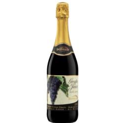 VINO SPUMANTE SIN ALCOHOL - JUGO DE UVA ROJA 750 ml